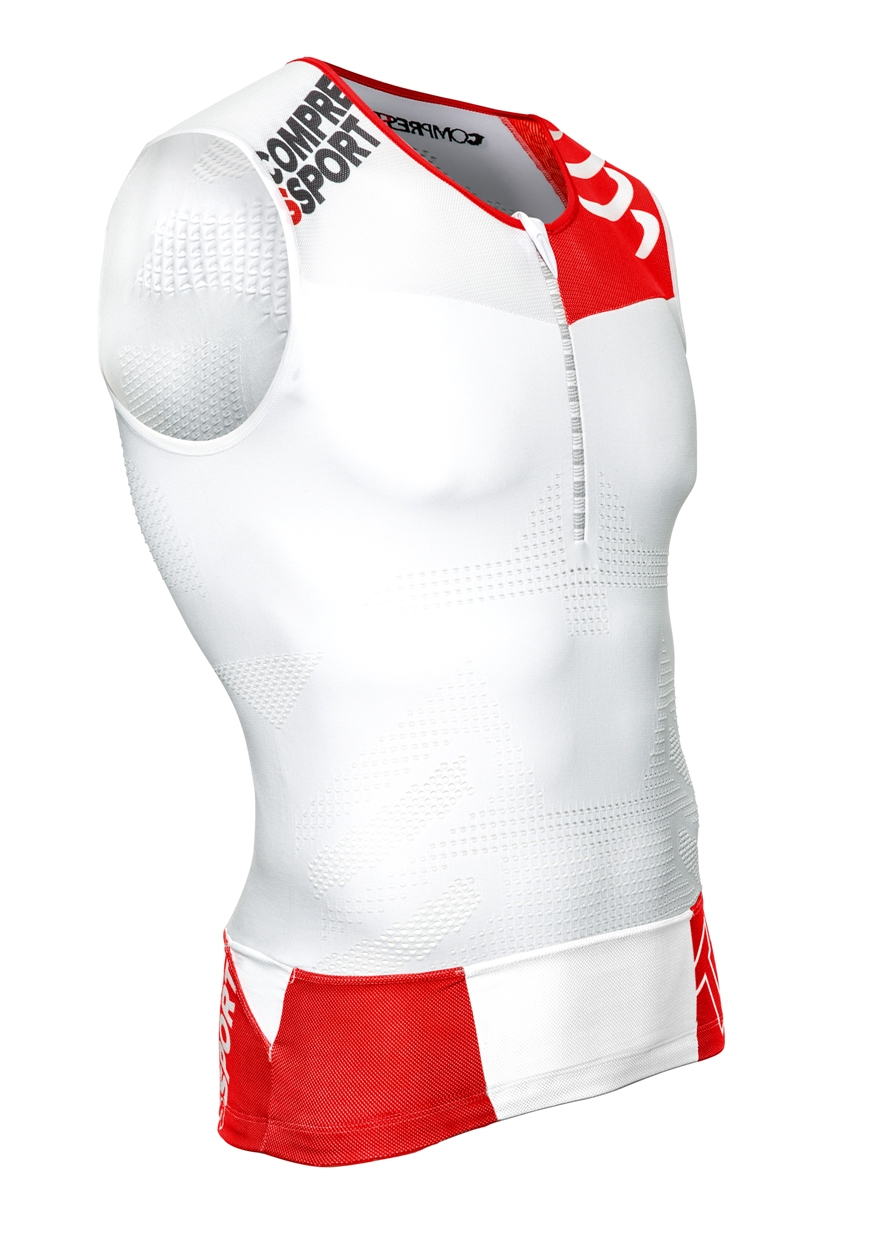 Compressport V2 TANK TOP (�����) - �������