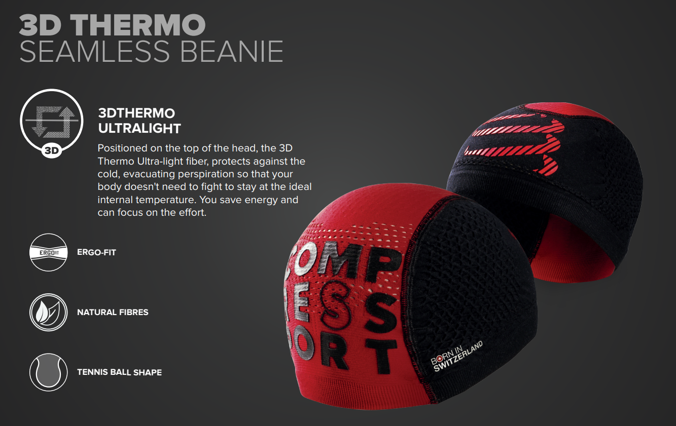 COMPRESSPORT 3D THERMO BEANIE