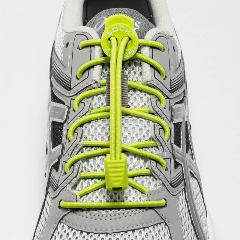 LOCK LACES Κορδόνια (LIME)