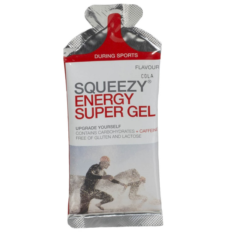 SQUEEZY Performance Super Energy Gel 33g (Cola) - 5άδα