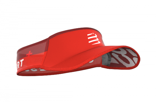 Compressport ULTRALIGHT Visor (red)