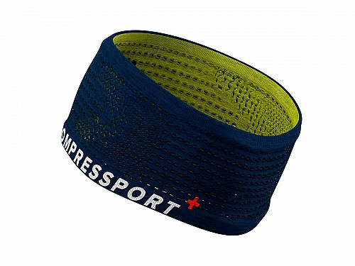 Compressport Headband  - (ΜΠΛΕ - LIME)
