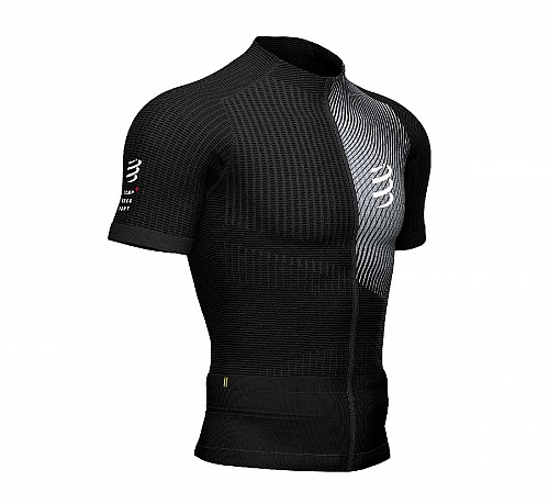 COMPRESSPORT TRAIL RUNNING SHIRT - SHORT SLEEVE (BLACK) - ΑΝΤΡΙΚΟ