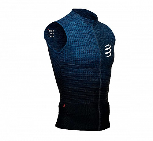COMPRESSPORT TRAIL RUNNING TANK (BLUE) - ΑΝΤΡΙΚΟ