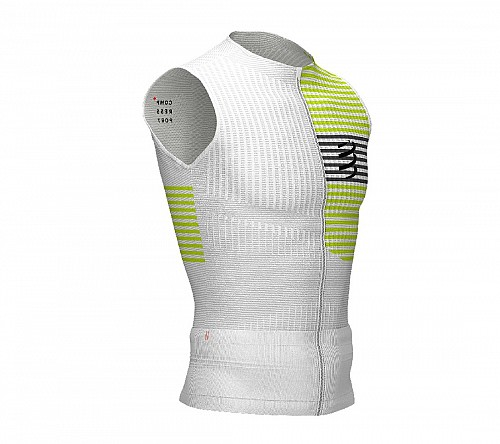 COMPRESSPORT TRIATHLON TANK (WHITE) - ΑΝΤΡΙΚΟ