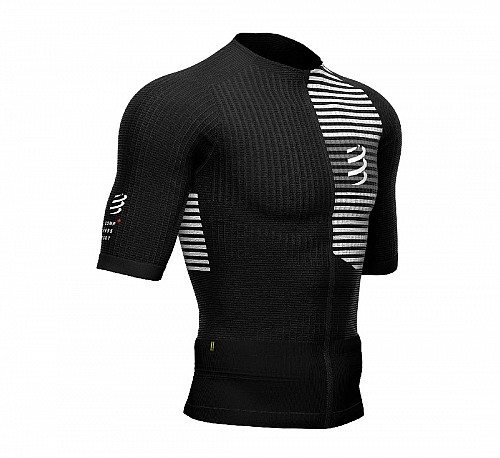 COMPRESSPORT TRIATHLON SHORT SLEEVE (BLACK) - ΑΝΤΡΙΚΟ