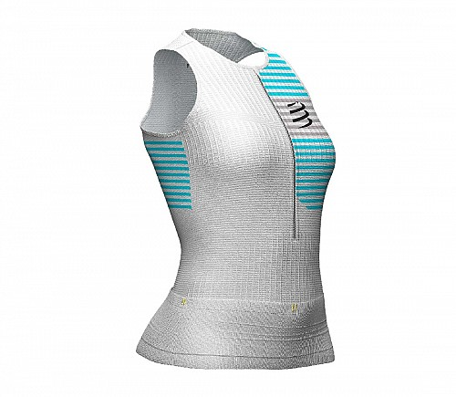 COMPRESSPORT TRIATHLON TANK (WHITE) - ΓΥΝΑΙΚΕΙΟ