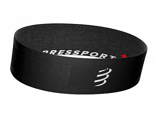 Compressport Free Belt (Black-Grey)