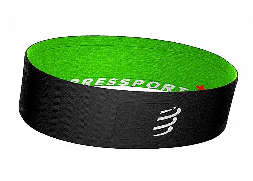 Compressport Free Belt (Black-Lime)