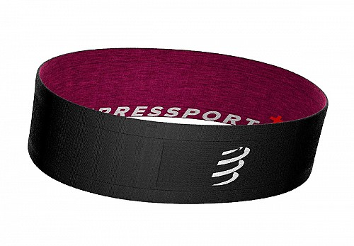 Compressport Free Belt (Black-Pink)