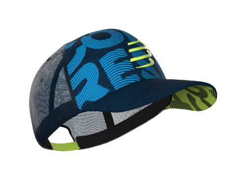 COMPRESSPORT TRACKER CUP (BLUE LIME)
