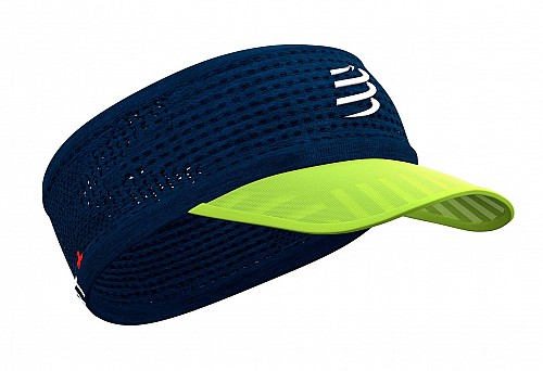 COMPRESSPORT Spider Headband On/Off (BLUE LIME)