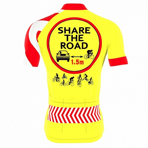 Bioracer Share the Road Jersey